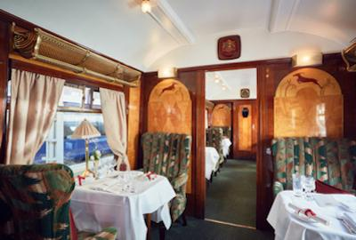 Timeless journey in an old steam train