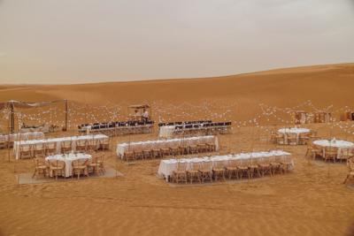 Séminaire en plein désert